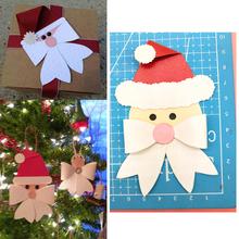 Santa Christmas Navidad Neol Bow Bowknow Metal Cutting Die Stencils for DIY Scrapbooking album Decorative Embossing Paper Cards