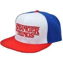 bb8ae9a49752d Adult s Stranger Things Dustin Hat RED Trucker Baseball Mesh Cap Adjustable  Hat Hip Hop Hat Snapback