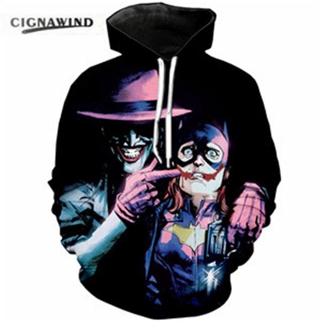 ab16d42639fb NEW Funny Men Women Sweatshirts 3d Hoodies Trump The Joker Hoodie Suicide  Squad Comic Clown Pullover casual Tracksuit topS-5XL