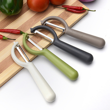 Fruit & Vegetable Tool new design candy color large fruit peeler stainless steel blade cucumber potatoes carrots Cooking tools цена в Москве и Питере