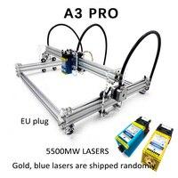 A3 Pro Mini Laser Cutting Machine 5500wm/3500wm/5500mw/7w/15w Laser DIY Laser Machine Engraver Wood Cutting PWM EU Plug
