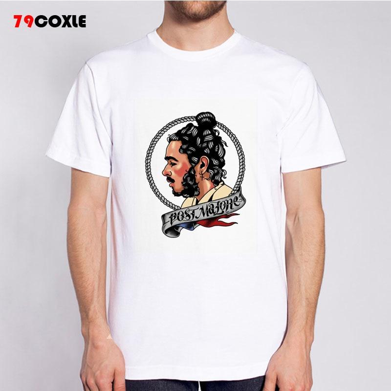 post malone T-shirts Men Funny modal Short Sleeve O-neck Tshirts Fashion  Summer Style Fitness Brand T shirts MR6111 eea9ca5f7