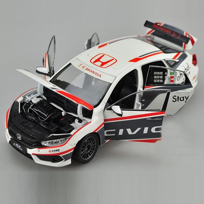 brand new 118 japan honda civic ctcc racing car diecast metal car model toy