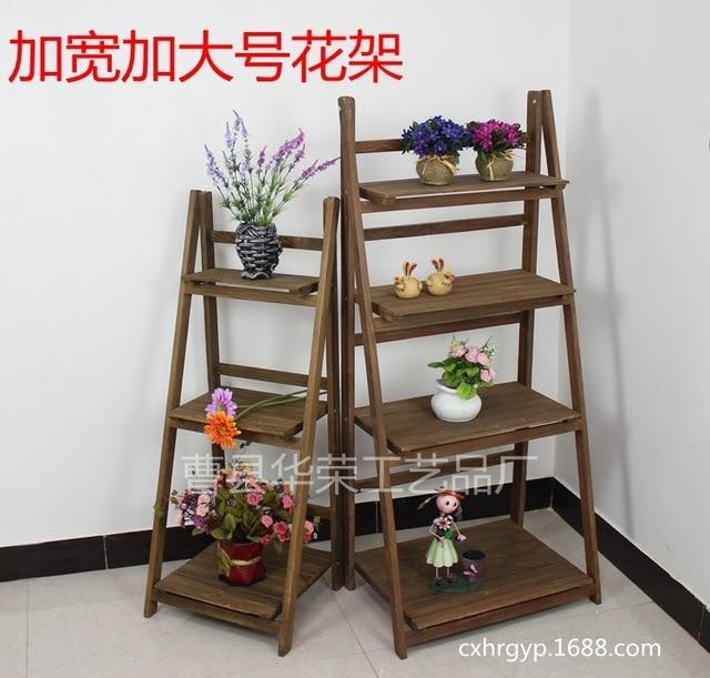 Negara amerika untuk melakukan tua retro antik bunga rak - Echelle decorative pour plantes ...