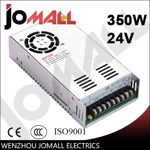 Free Shipping 350w 24v 14.6a Single Output switching power supply