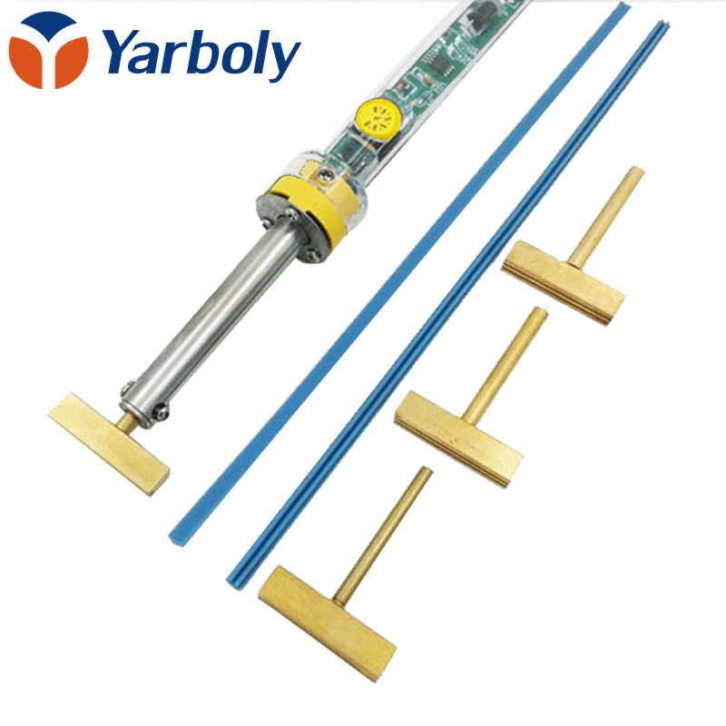 Electric Temperature Adjustable Soldering Iron 907 40W T Solder Tip With Free Hot Press For LCD Screen Flex Cable Repair