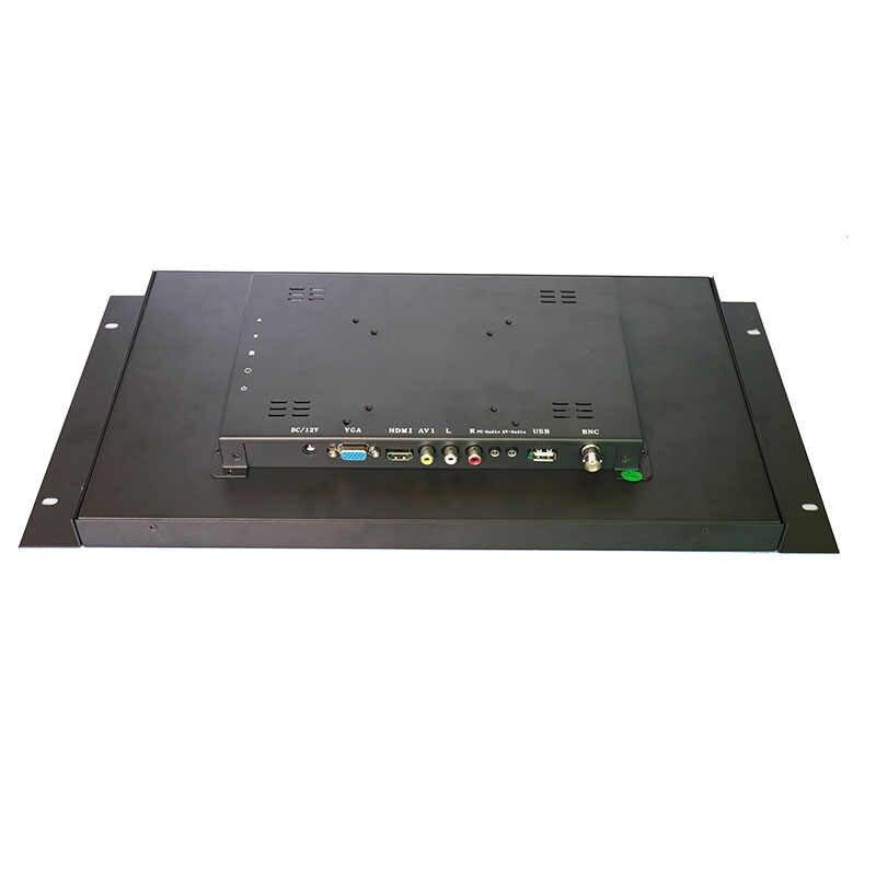 17,3 дюймов широкий сенсорный экран в негерметичном корпусе промышленный сенсорный монитор 1920*1080 Высокое разрешение металлический сенсорный монитор с VGA/HDMI/USB