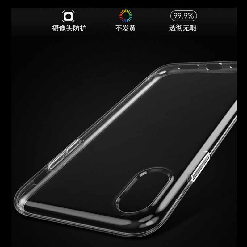 Cho Iphone XR Bao Da Siêu Mỏng Chống Rơi Cho iPhone XS X Xsmax 6 S 6 7 8plus 8 Plus Ốp Lưng Bảo Vệ Coque HD Cho iPhone XR Bao