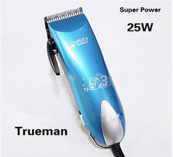 Free Shipping 2014 New Arrival 25W Professional Pet Dog Hair Trimmer Grooming Clipper Animal Hair Clipper Limit Comb Kits codos 3300 pet electric nail grinder dog cat paw trimmer grooming clipper tool