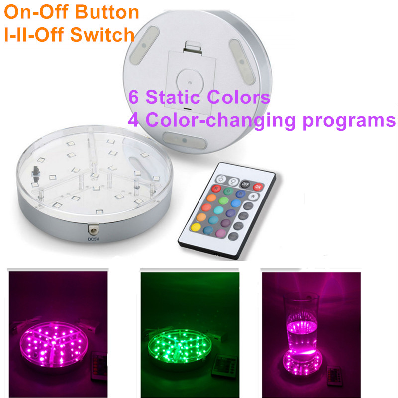 20pcs Aa Battery Operated Rgb Led Bulblite Lighting System