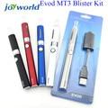 Vaporizador e cigarro Evod Kit Blister MT3 Starter Kit Cigarro Eletrônico Evod Bateria Mt3 Atomizador evod mt3 kit 2YY
