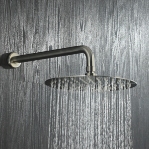 Image 4 - Smesiteli מודרני עופרת משלוח SUS304 מגופים הרכבה 8  12 מקלחת גשם & Handshower מערכת מקלחת סט מוברש נירוסטה