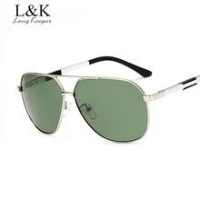 Larga Arquero Nueva 2017 Hombres de La Moda gafas de Sol Polarizadas de Doble Haz Gafas de sol Para Hombre Eyewares gafas de sol mujer UV400 KP7005
