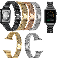 Joyozy Stainless Steel Watch Band For IWatch Apple Watch Strap Link Bracelet 38mm 42mm Lwith Adapter