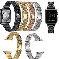 Joyozy Stainless Steel Watch Band For IWatch Apple Watch Strap Link Bracelet 38mm 42mm Lwith Adapter
