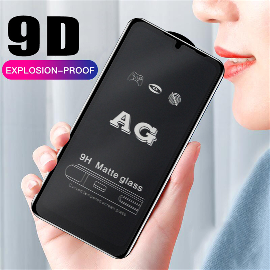 9D Full Glue Matte <font><b>Glass</b></font> For Xiaomi Redmi Note <font><b>7</b></font> Pro Protective <font><b>Glass</b></font> On Mi Redmi Note 6 <font><b>7</b></font> pro Redmi 6 <font><b>7</b></font> pro 6A Redmi Go S2 Film image