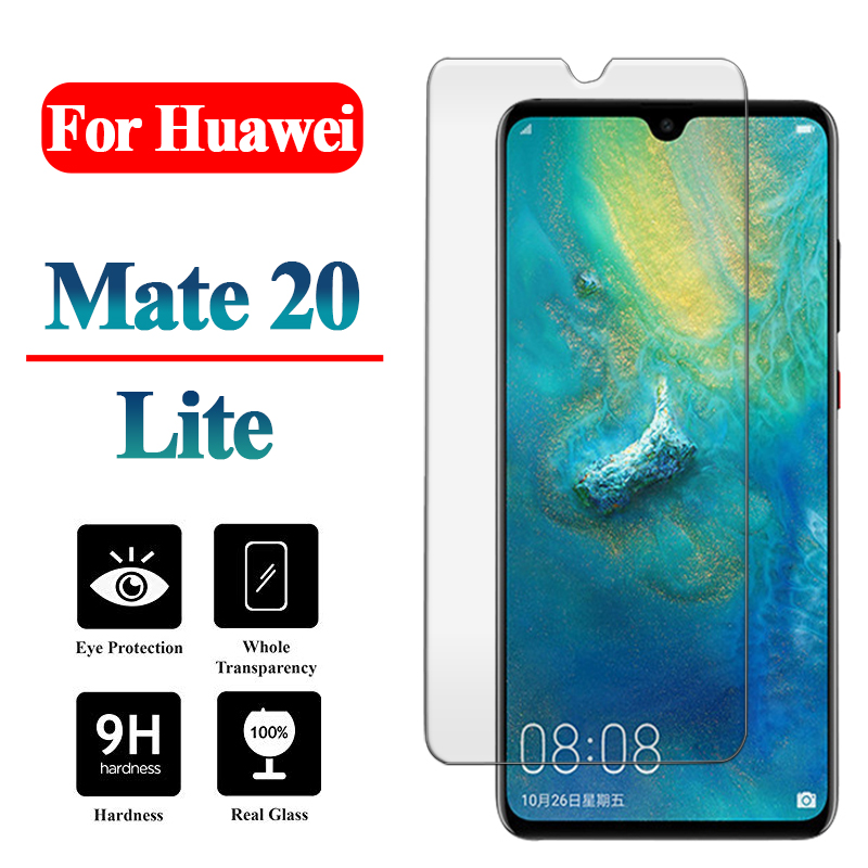 For Huawei Mate 20 Lite Tempered Glass On Hauwei Mate20 20lite Light Screen Protector Huawey Protective Protection Film Glas 9 H