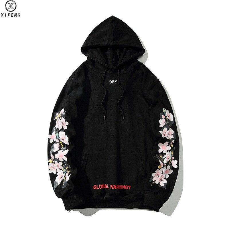 Hommes femmes sweats à capuche à fleurs Rose fleur sweat à capuche mode ample Hip Hop pull à capuche Couple à capuche haute rue étiquette complète