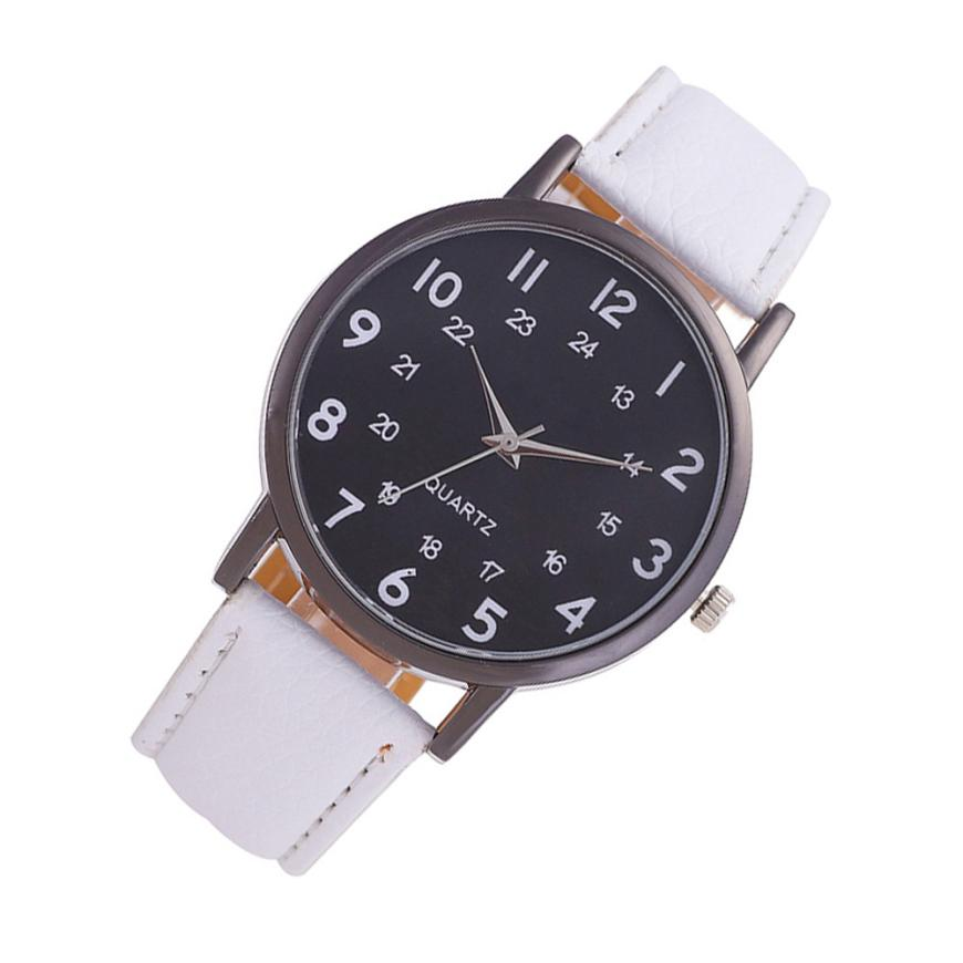 Unisex Beautiful Ladies WristWatch 2018 Fashion Simple Temperament Business Quartz Watch Stainless Steel Souvenir Hand Clock #D