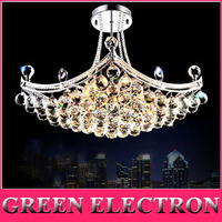 New Arrival Crystal Chandelier Pendant Lamp Luxury Crystal Fixture Hanging Lusters Ready Stocks