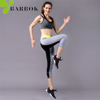 BARBOK Workout Set Female Yoga Sets Bra Leggings Custome Girl Fitness Gym Sportwear Sport Clothing Women