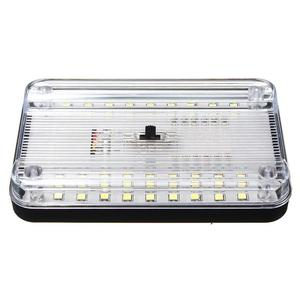 Image 3 - 36LED Auto Interieur Lichtkoepel ABS Wit Plafond Lamp voor 12 V Marine Boot Camper Accessoires