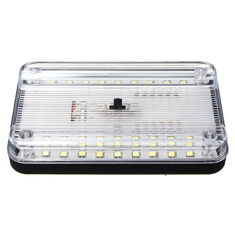 Image 3 - 36LED Car Interior Dome Light ABS White Ceiling Lamp for 12V Marine Boat Motorhome Accessories-in RV Parts & Accessories from Automobiles & Motorcycles