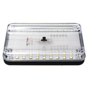 Image 3 - Luz de techo Interior ABS para coche, lámpara de techo blanca para barco casa rodante marino de 12V, accesorios, 36LED