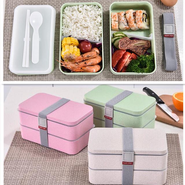 Lunchbox 1200ml | Matlåda med 3 fack.