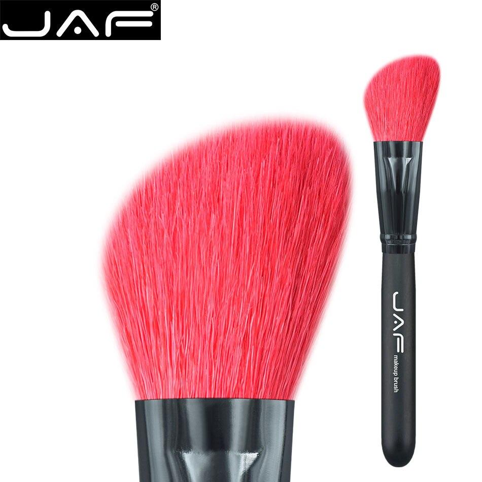 JAF 1-pieza de Pelo Al Por Menor Pendiente de ojos brocha contorno highlighter Brush Powder Mejillas Maquillaje Profesional Herramientas de Cosméticos