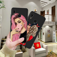 Girl Woman For Huawei P8 P10 P20 P30 Mate 10 20 Honor 8 8X 8C 9 V20 20i 10 Lite Plus Pro Case Cover Coque Etui Funda baby mom(China)