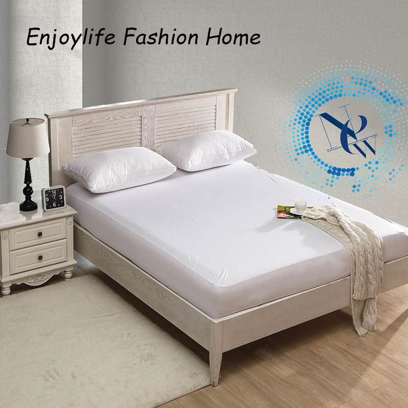 2014 Best Seller Russian Size  polyester knit Waterproof Mattress Protector /mattress for Cover Bed Wetting 160*200+30cm