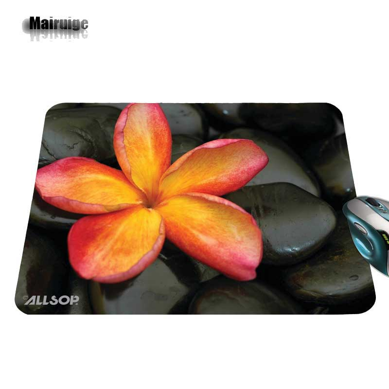 Stone And Flowers Print New Arrival Hot Selling Design High Quality Durable Computer font b Gaming