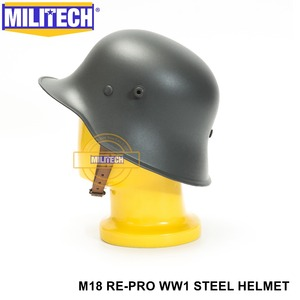 Image 3 - Free Shipping! MILITECH Grey World War One German M18 Helmet The Great War Repro Safety Helmet  WW1 German M18 Helmet WWi