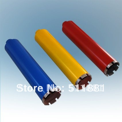 ФОТО 76mm*370mm Diamond Core Drill Bits FREE shipping | 3'' concrete wall wet core bits | Professional engineering core drill
