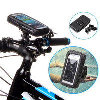 LOCLE Bike Frame Front Tube Bag Cycling Riding Bag Pannier Smartphone GPS Touch Screen Case Bicycle