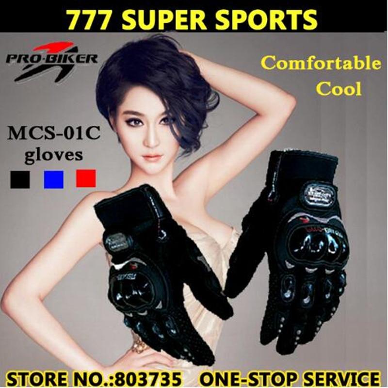 2017 Hot Promotion Full Finger Motorcycle Glove Cycling Guantes Motorbike Gloves (M-XXL) Brands Pro-Biker MSC-01C