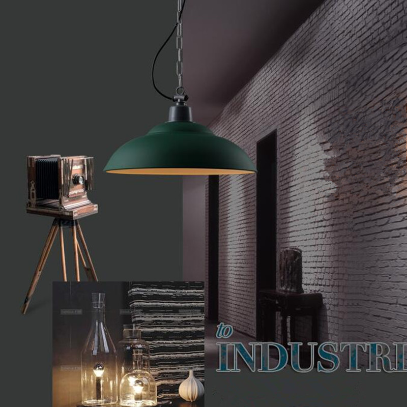 2018 Hot Sale Luminaria Loft Industrial Bar Retro Modern Simple Restaurant Warehouse Iron Pendant Lights Home Deco Hanging Lamp
