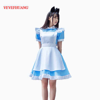 VEVEFHUANG Game Wonderland Party Cosplay Alice Costume Anime Sissy Maid Uniform Sweet Lolita Dress Halloween Costumes For Women - DISCOUNT ITEM  34 OFF Novelty & Special Use