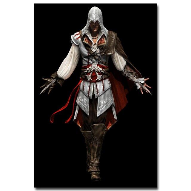 Шелковый Плакат Гобелен игра Кредо Убийцы Assassins Creed в ассортименте 2