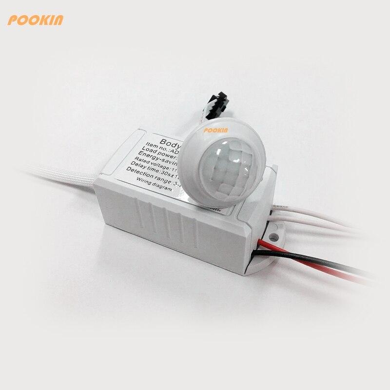 110 В ~ 220 В 200 Вт ИК Сенсор и человеческих Средства ухода за кожей индукции переключатель энергосберегающие движения Сенсор авто на выключени...
