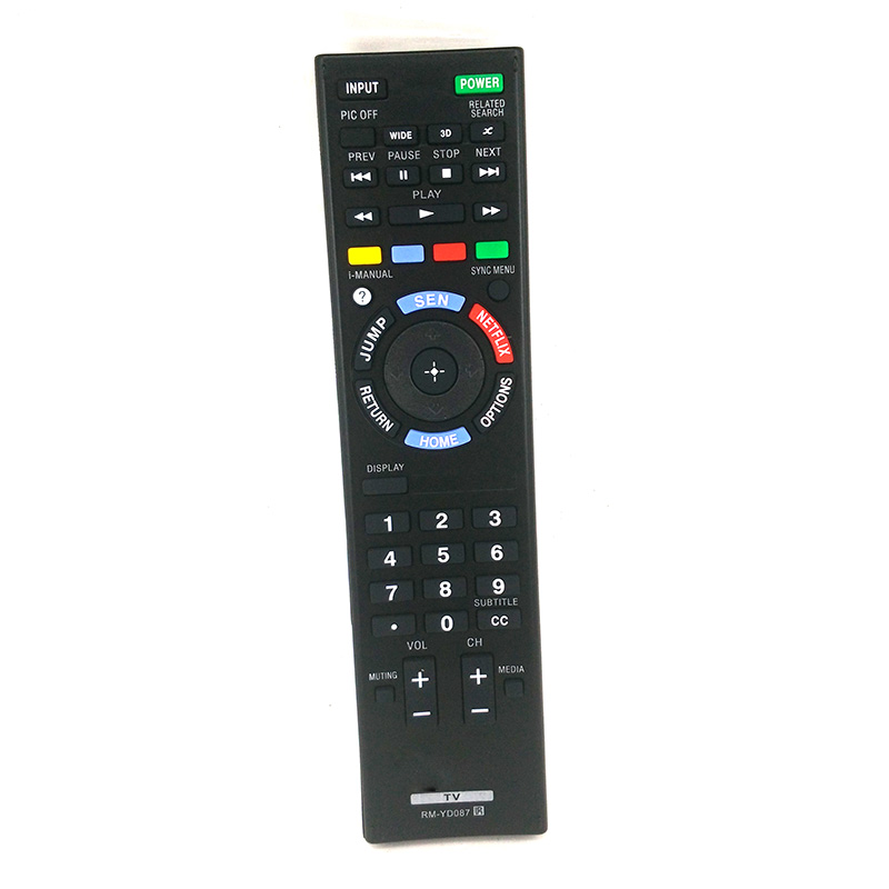 New 3D TV Remote Control for Sony LED HDTV TV RM-YD087 YD102 RM-YD103 KDL-50W790B KDL50W ...