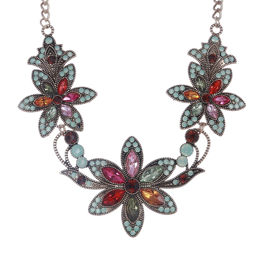 19 Fashion Designer Chain Choker Statement Necklace Women Necklace Bib Necklaces & Pendants Gold Silver Chain Vintage Jewelry 13