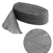 New Steel Wire Wool Grade 0000 3.3m For Polishing And Cleaning