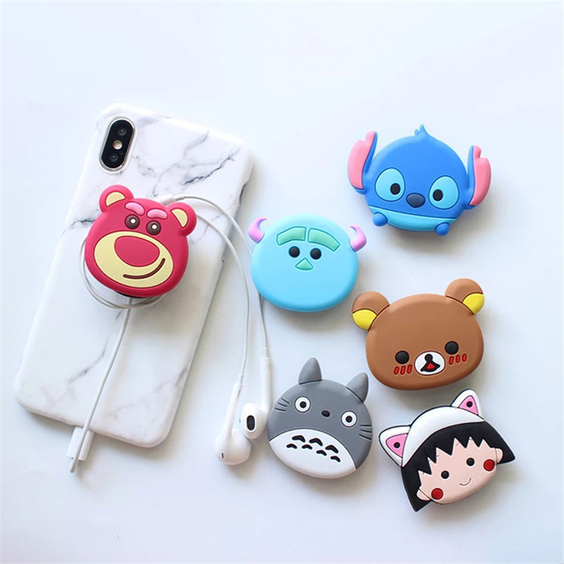 Mobile Phone Bracket Stereo Silicone Cartoon Airbag Bracket Phone Holder Phone Grip For Iphone X Iphone Xs Xiaomi Iphone 7
