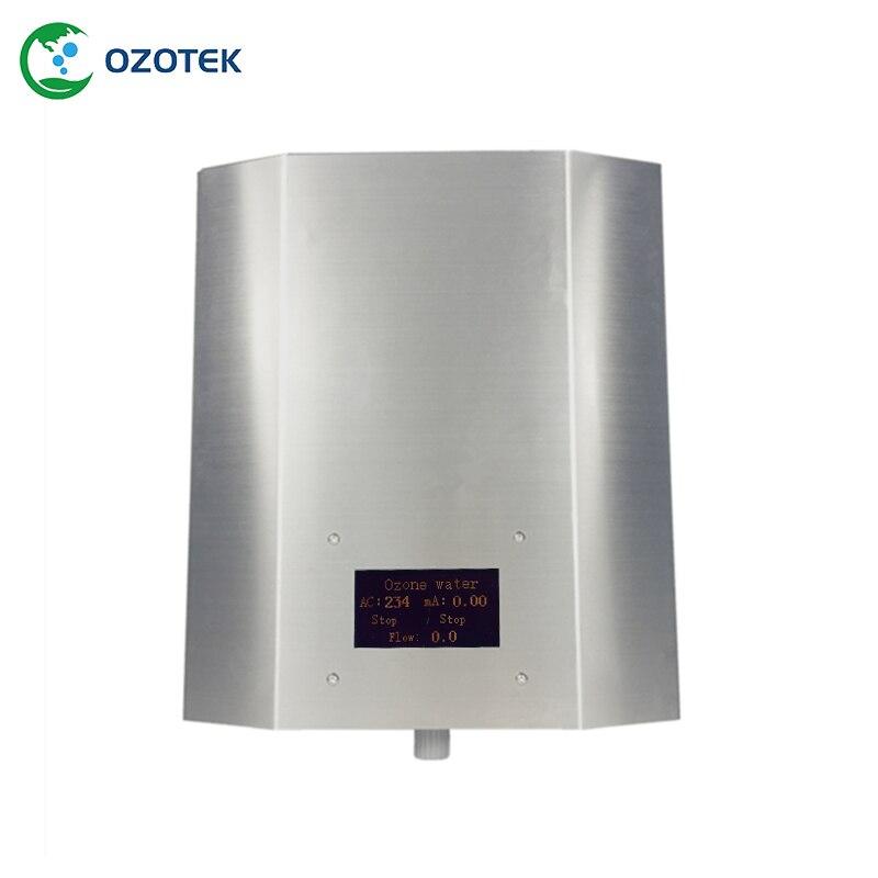 Nowy OZOTEK generator ozonu do wody leczenia 1.0 3.0PPM 220 V/110 V 5000 MG/H używane na żywności fabryka darmowa wysyłka w Filtry do wody od AGD na  Grupa 1