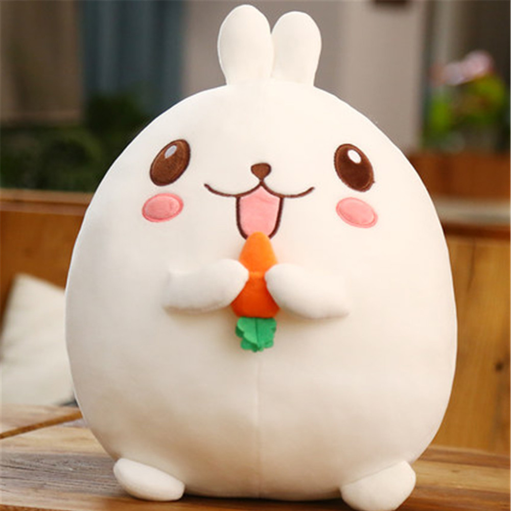 Fancytrader New Lovely 60cm Plush Bunny Toys Big Soft Stuffed Anime White Love Carrot Rabbit  Doll for Kids Gifts 3 Models fancytrader stuffed anime cat plush toy lovely big soft cats pillow cushion best gifts for birthady xmas