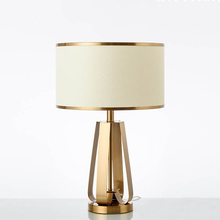 Modern Iron Table Lamps For The Bedroom Bedside Tiffany Table Lamp Cover Home Deco Desk Lamp Living Room Study Light Fixture