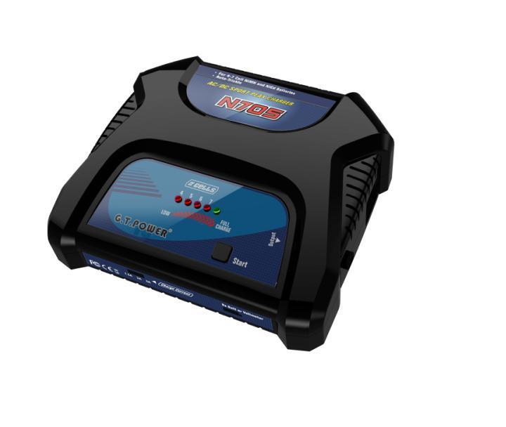 G. T. Power N705 chargeur pour Batteries NiHM NiCd Support de batterie AC DC avec Ports de sortie Tamiya et futaba-j F11837