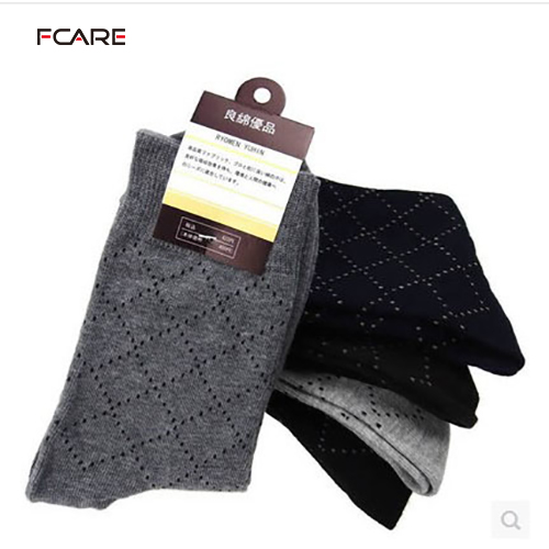 Fcare 10pieces=5 pairs cotton spring and autumn summer thick sock comfortable casual mens male commercial socks halloween